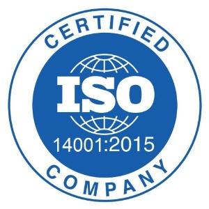 Certificato ISO 14001:2015
